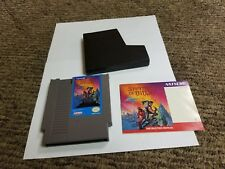 Shadow of the Ninja (Nintendo Entertainment System, 1991) with manual nes