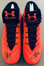"Stephen Curry autograph ""Red Hot Santa"" Curry 3 signed Sz 13 auto shoes FANATICS"