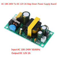 AC-DC 100-240V to 12V 2A converter isolated step down power supply board YJ