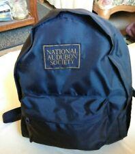 "New NATIONAL AUDUBON SOCIETY  Lightweight Nylon Backpack 18"" x 14"""