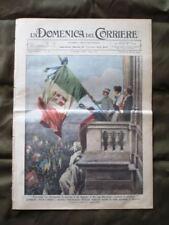La Domenica del Corriere 2 Giugno 1935 Re Bandiera Aereo Altare della Patria