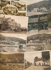 Somerset PORLOCK WEIR x14 collection c1900/40s PPCs