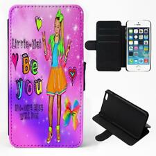 Personalised Jo Jo Bow iPhone Phone Case Hair Clip Flip Cover Girls Gift JOJO 1