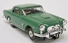 rare Aurora #1367 MASERATI 3500 GT Thunderjet dk green NO stripe HO slot car ft