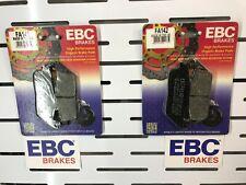 BURGMAN 650 FRONT BRAKE PADS FOR SUZUKI 2003 TO 2018 EBC FA142