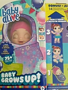 BABY ALIVE Grows Up -BONUS PACK- FREE GIFT W/ PURCHASE ~SHIPS FREE TODAY~