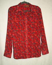 Wrangler Long Sleeve Button Down Shirt, Size L