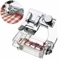 Pro Bias Binder Presser Foot Attaching Binding Snap-on For Sewing Machine Tool