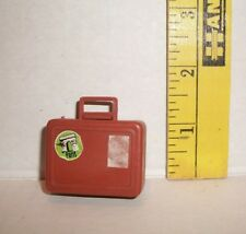 BARBIE DOLL VINTAGE BUSY HANDS BROWN SUITCASE #2 ACCESSORY