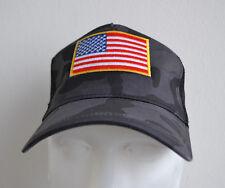 Etats-Unis, Trucker Cap, Camouflage, Motard, Bonnet, United States Of America,