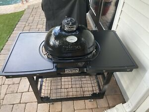 Primo Ceramic Grill, Stand Cart, Side Tables & Cover - Local Pick Up Only