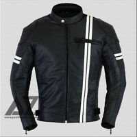 X Men Motorbike Leather Jacket Motorcycle CE Protection All sizes