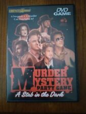 DVD Game Murder Mystery Party Game - A Stab in the Dark