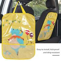 Car Seat Back Cover Protector for Kids Children Baby Kick Mat from Mud Dirt