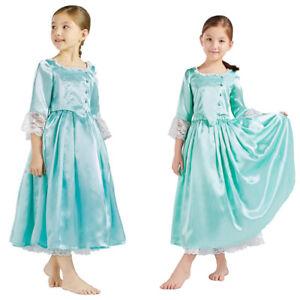 Girls Medieval Princess Victorian Dress Colonial Hamilton Elizabeth Schuyler