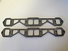 """Sbc Header Flanges  283 302 305 327 350 383 400 Chevy 1 3/4"""" Ports 1/2 thick"""