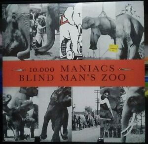 10,000 MANIACS Blind Man's Zoo Album Released 1989 Vinyl Collection USA