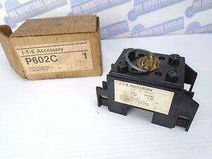 ITE, I-T-E, Accessory QUICK FUSE PULL BLOCK - P602C - 60A, 240V- (NEW in BOX)