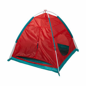 KIDS ADVENTURE 2-IN-1 PLAY TENT WITH CRAWLING TUNNEL OUTDOOR INDOOR TOYS M1.