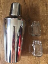 Cocktail Shaker Set: Cocktail Shaker and Drinks Measure Kit, Stainless Steel