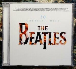 The Beatles 20 Greatest Hits Stereo Cd, U.K. Version.