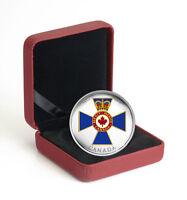 2017 Canadian Honors 45th Anv Military Merit 1 oz. Silver Proof $20 OGP SKU47929