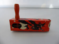 RARE Witch Halloween Noise Maker US Metal Toy Company