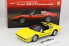 Kyosho 1:18 scale Ferrari 308 GTS Quattrovalvole(QV) - Yellow  *ULTRA RARE*