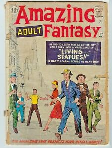 Amazing ADULT Fantasy #12  Cover to cover  Steve Ditko. All 4 stories  1962