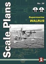 Mushroom Model Scale Plans No. 38: Supermarine Walrus