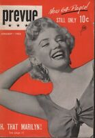 Prevue Digest January 1953 Marilyn Monroe Cheesecake Pin Up 070819AME