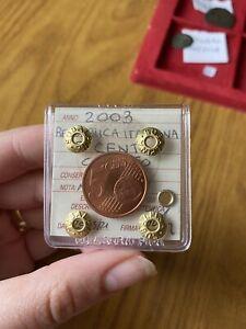 Monnaie Repubblica Italiana 5 Cent Colisée Pas Commun Scellée FDC