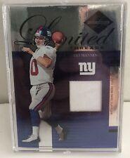 2005 Leaf Limited Threads #LT31 Eli Manning 11/75