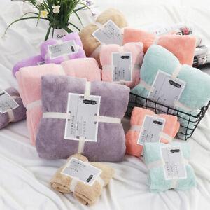 Microfiber Absorbent Bath Towel Soft Shower Towel Washcloth Adult Kids 70 X140CM