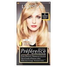 L'OREAL RECITAL PREFERENCE PARIS 8 CALIFORNIA NATURAL MID BLONDE HAIR COLOUR