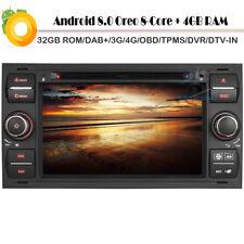 "7""Android 8.0 DAB+Autoradio GPS Navi USB SD DVD Player DVB-T2 für Ford Transit"