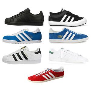 Adidas trainers Superstar Stan Smith Gazelle Beckenbauer