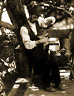 """1870's Tinsmith Working Under a Tree Vintage Old Photo 8.5"""" x 11"""" Reprint"""