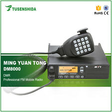 UHF 400-470MHZ 50W DMR 2Tone/5Tone Digital Mobile Radio Transceiver DM-8000