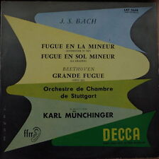 KARL MÜNCHINGER/BACH/BEETHOVEN DECCA LXT 2668  FRENCH LP