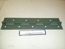 """NOS Large Heavy Duty Butt Hinge 16"""" x 4"""" x 1/8"""" Metal Military 5340013996558"""