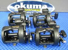 Okuma Magda Line Counter Trolling Reel with Star Drag  MA 45D 4 PACK