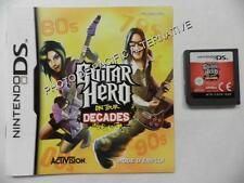 Cartouche de Jeu GUITAR HERO ON TOUR DECADES nintendo DS game francais loose
