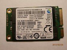 256GB mSATA SSD Samsung PM851 MZ-MTE2560 / Lenovo SSD0E38407 04X4437 16200597