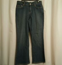 Lauren Jeans Co. Womens Jeans Size 4P Ankle Med Blue NWT
