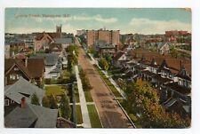 CANADA carte postale ancienne VANCOUVER comox street