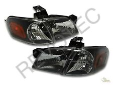 Silhouette Venture Trans Sport Montana Black Headlights W/ Corners Signal Lights