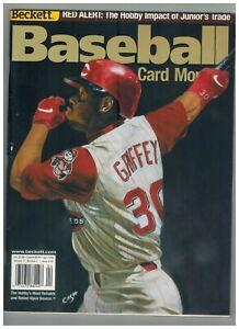 April 2000 Beckett Baseball magazine Ken Griffey cover