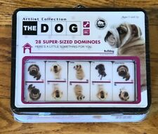 The Dog Artlist Collection Dominoes New! Free Shipping!