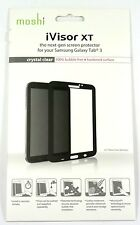 Moshi iVisor XT Screen Protector for Samsung Galaxy Tab 3 7.0 Tablet,Black,Clear